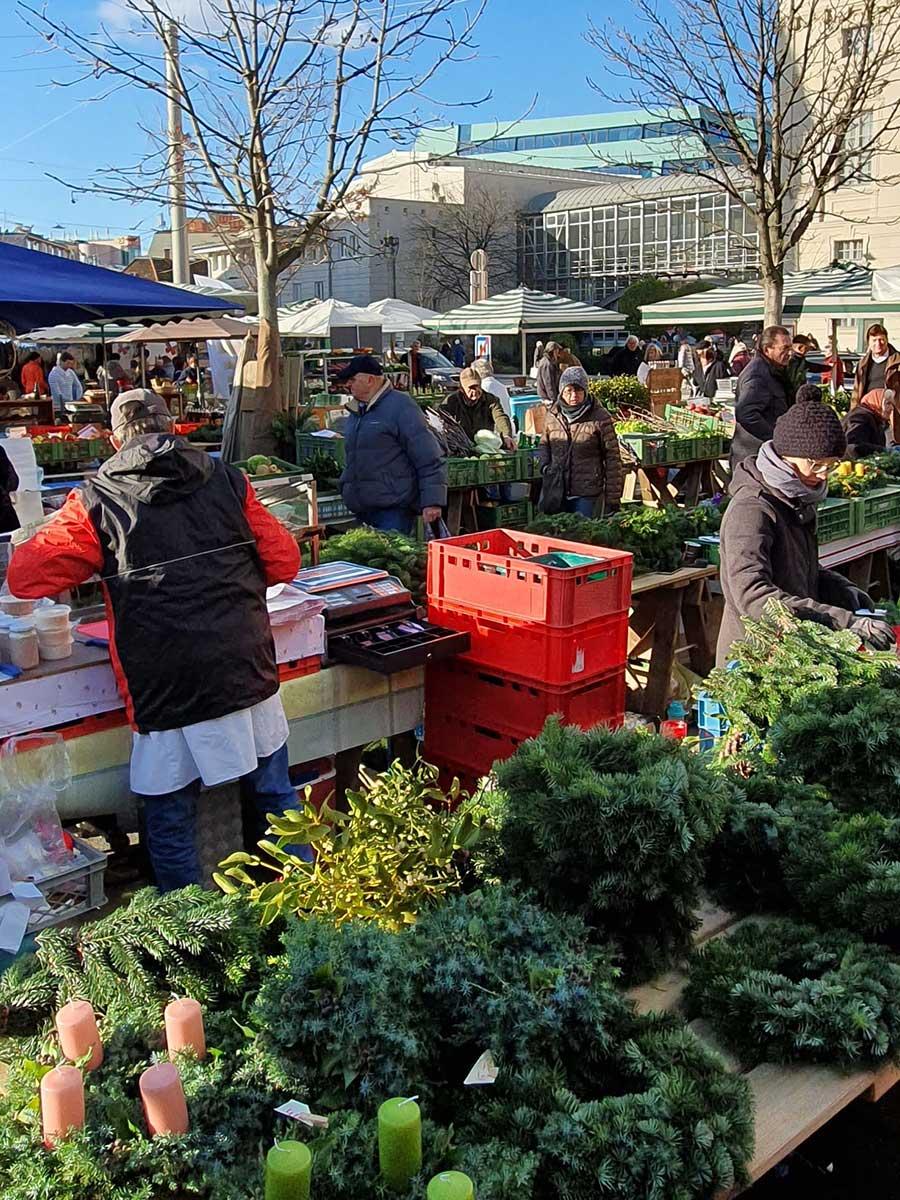 Bauernmärkte in Graz – Standorte und Öffnungszeiten